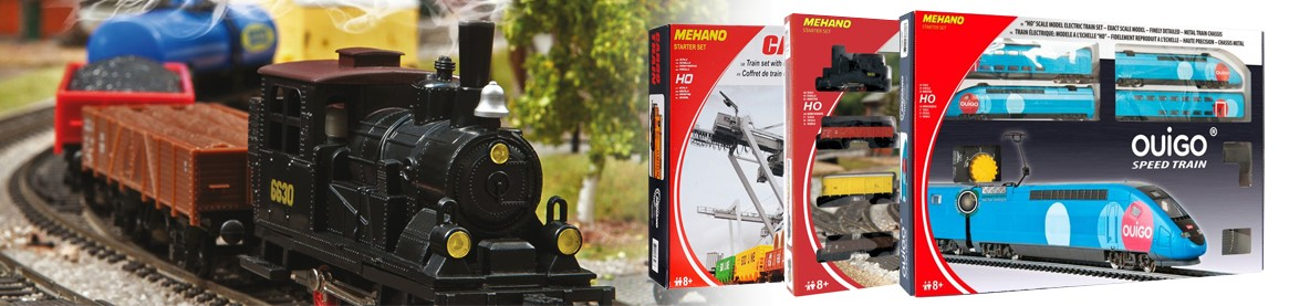 Coffrets de trains Mehano