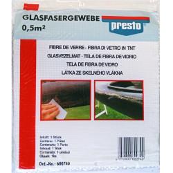 Tissu de verre tissage moyen 300g/m². 0,5m²