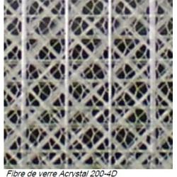 Renfort spécial résine acrylique 250m2. Largeur 1,20 metre.