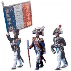 Epopée Napoléonienne 54mm : Tête de Colonne n°1