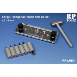 Punch and die set hexagonal de 1,5 à 5,0 mm