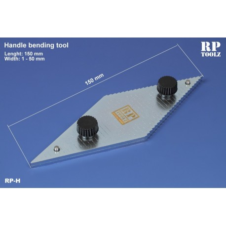 Gabarit de pliage pour métal pli de 1 à 50mm