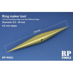 Outil de réalisation de bagues de 1,5 à 20 mm