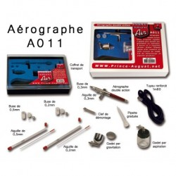 Coffret aérographe double action - Prince August