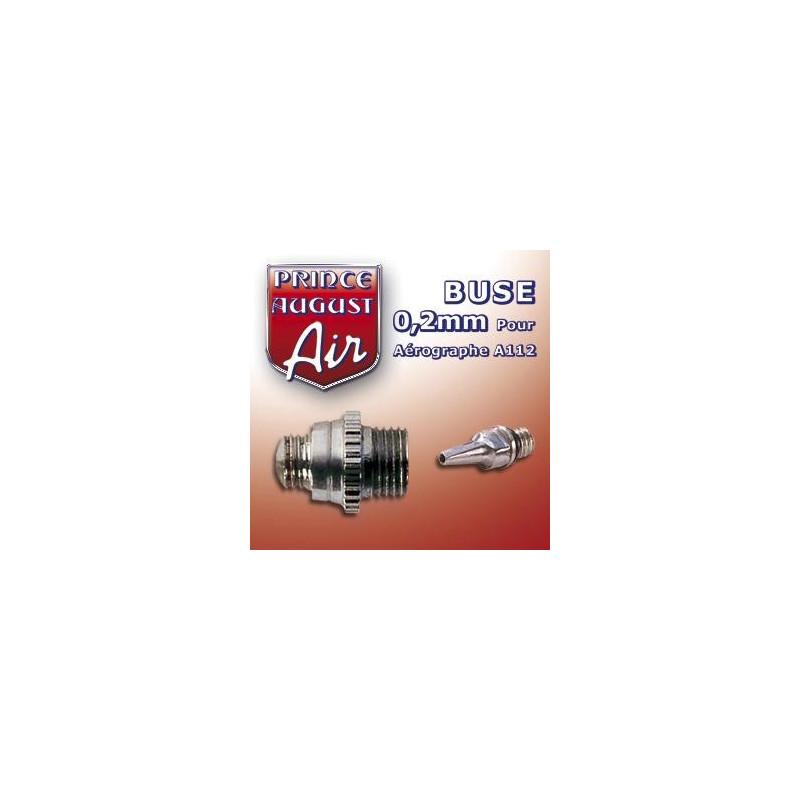 Buse de 0,2 mm pour Aérographe A112