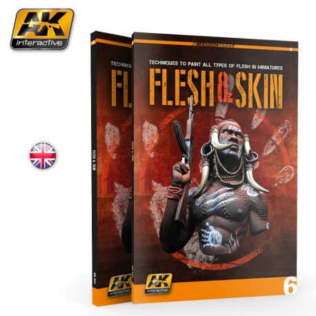 Livre FLESH & SKIN LEARNING SERIES 06