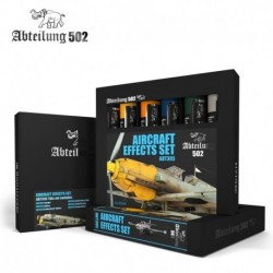 Set de peintures Abteilung 502 Aircraft Effects Set