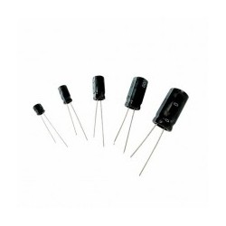 Condensateur radial 100µF 16V les 2