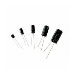 Condensateur radial 22µF 50V les 3