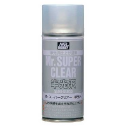 GUNZE B516 Mr SUPER CLEAR VERNIS SATINE SPRAY