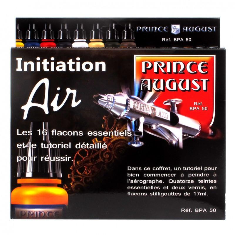 Coffret de démarrage 16 teintes Prince August AIR
