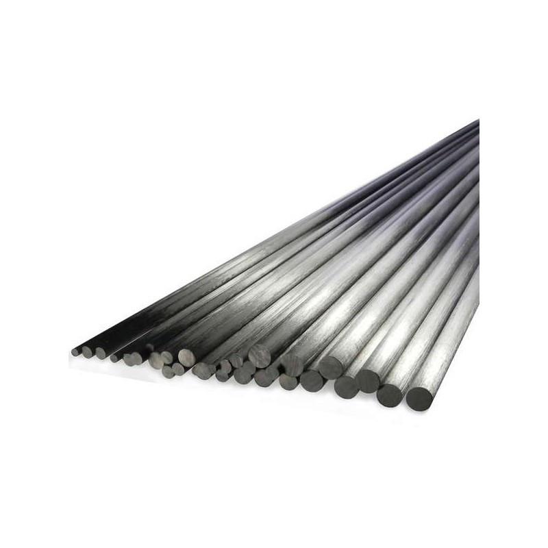Jonc de carbone de 2,5mm