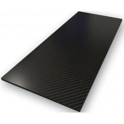 Plaque carbone 350x150x1,5mm