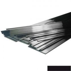 Plat de carbone de 3x1mm