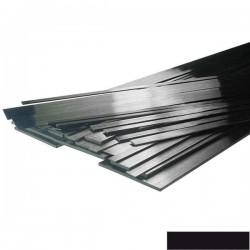 Plat de carbone de 6x1mm