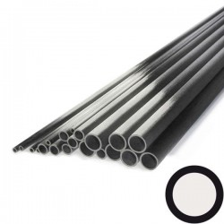 Tube de carbone de 2x0,5mm
