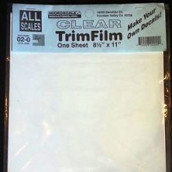 Papier fond transparent ou blanc