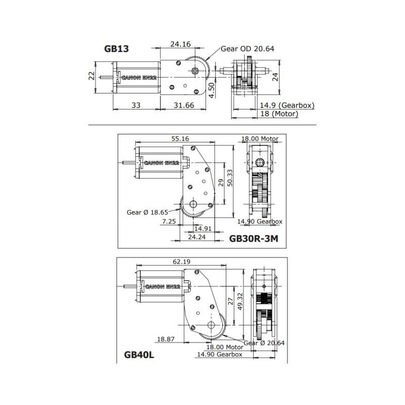 Reducteurs SLATER'S échelle zéro et 1