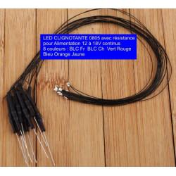 Led CMS 0805 CLI 12 à 18V
