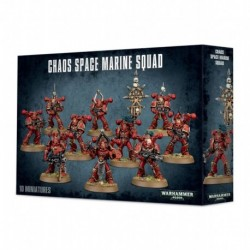 40K - Space Marines Du Chaos
