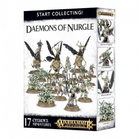 Aos/Start Collecting! Daemons of Nurgle