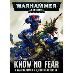 40K - Sans Peur: Boîte de base Warhammer 40,000