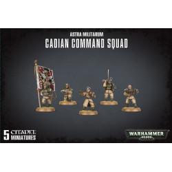 40K - Cadian Command Squad