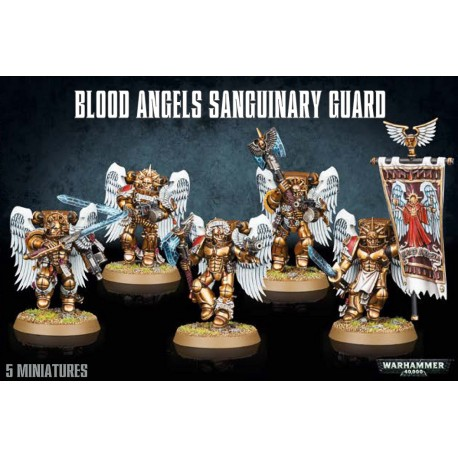 40K - Blood Angels Sanguinary Guard