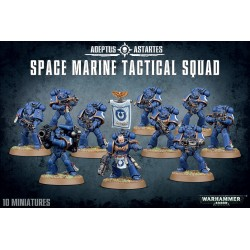 40K - Space Marine Tactical Squad