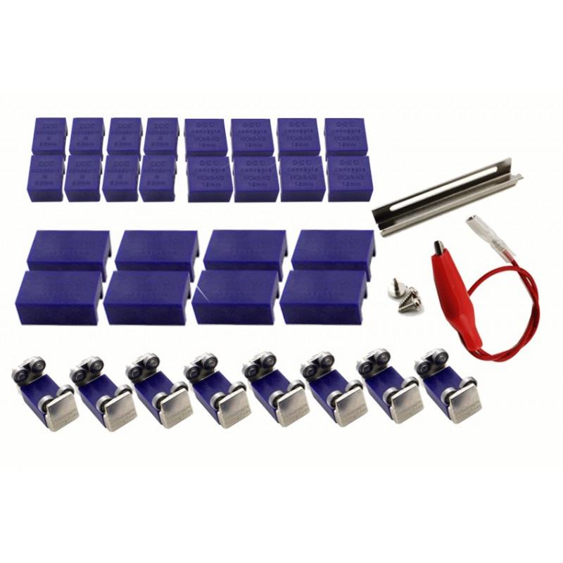 Banc Dessais 8 Axes Pour Rails Ho On30 Tt Hom N Hoe Micro Modelefr