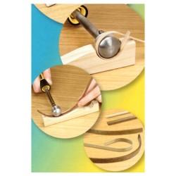Outil de cintrage du bois à chaud