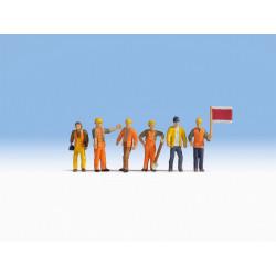HO / Ouvriers de chantier