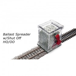 Applicateur ballast HO avec clapet
