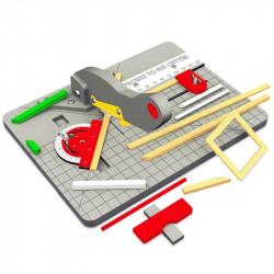 Outil de coupe pour profilés bois et plastique