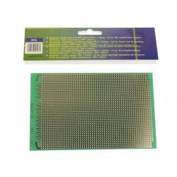 Plaque d'époxy à bandes perforées 100x160 mm