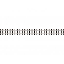 Rail flexible Code 70 Traverses de type bois, 914mm