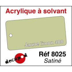 595-8025 Jaune limon 408 acrylique à solvant