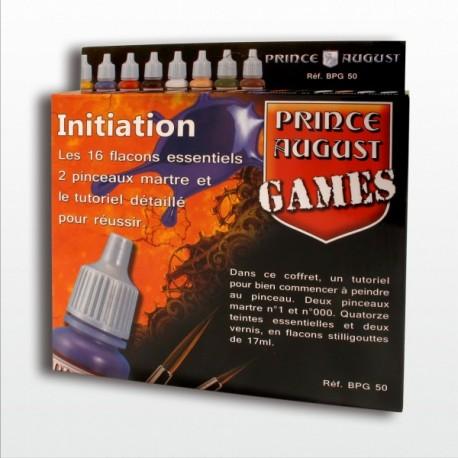 Coffret de démarrage 16 teintes Prince August GAMES