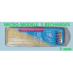 Fibre de verre 110x2 mm - 5 rechanges