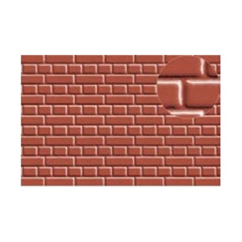Échelle HO ou N - briques environ 2mm de large