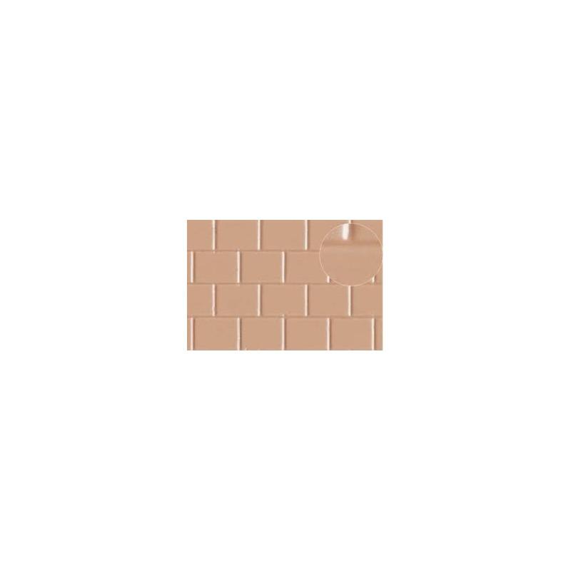 Échelle O - briques font 8x6 mm