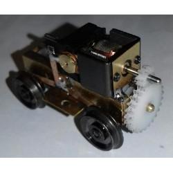 Bogie moteur roues de 10,5 mm - entraxe : 24,5 mm