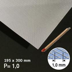 Métal déployé aluminium 1mm