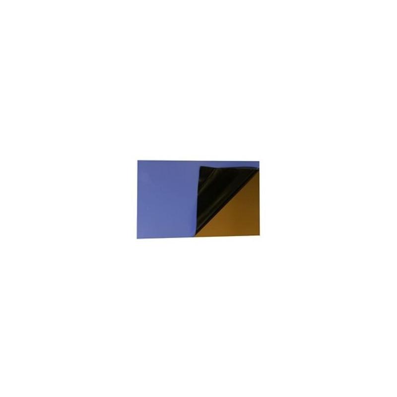 Maillechort photospositif sur 2 faces 0,15x80x250