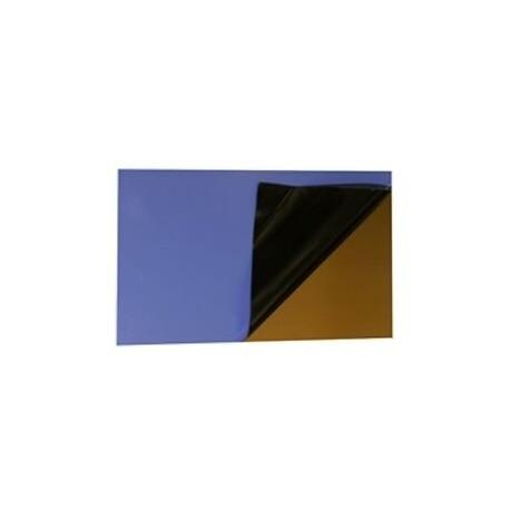 Maillechort photospositif sur 2 faces 0,2x100x250
