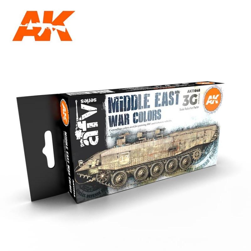 AK11648 Middle East War Colors Vol.1 (Acrylic Paint Set)