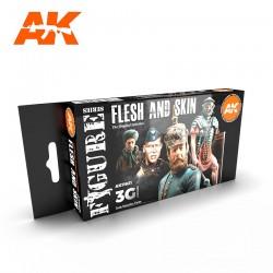 AK11621 Flesh and Skin Colors