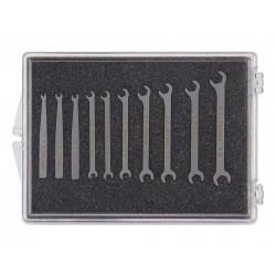 Jeu de clés plates de 1,0 à 4,0mm