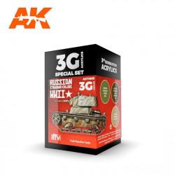 AK11665 RUSSIAN WWII Set (3G Acrylics)
