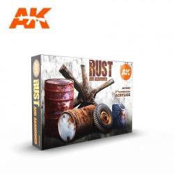 AK11605 RUST AND ABANDONED (Acrylic Colors Set)